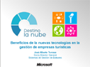 Cloud Day: Benefits of new technologies in tourism companies management